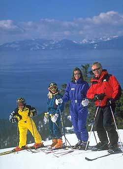 Ski Diamond Peak Family