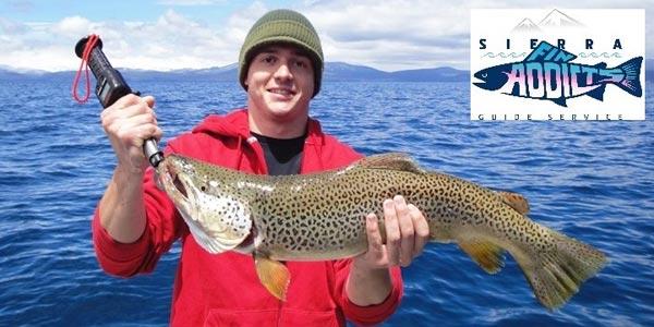 Lake tahoe fishing and fishing information for Lake tahoe fishing guides