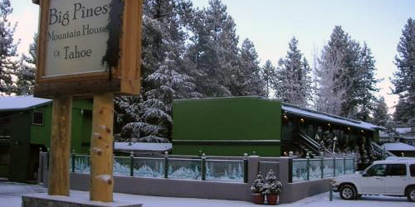 Big Pines Mountain House Lake Tahoe CA