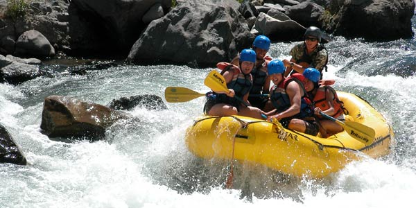 Lake Tahoe White Water Rafting