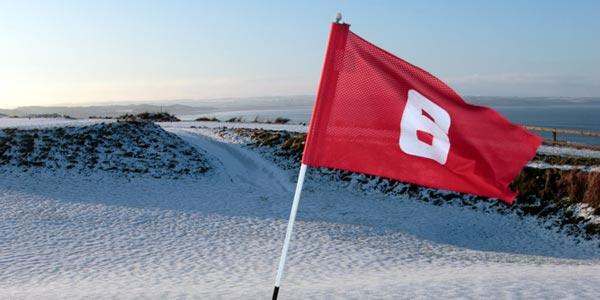 Snow Golf at Alpine Meadows