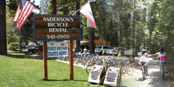 Lake Tahoe Bicycle Rental