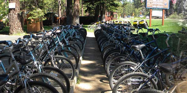 Lake Tahoe Anderson's Bicycle Rental
