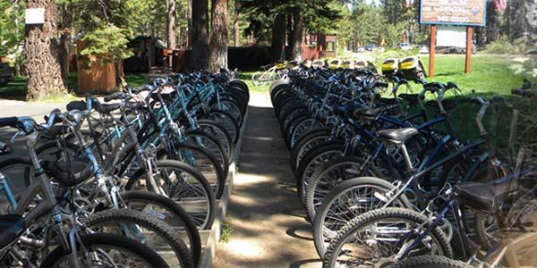 Lake Tahoe Anderson's Bicycle Rental