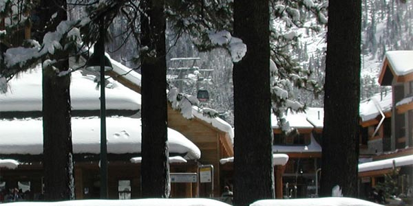 winter time at Best Western Station House Inn