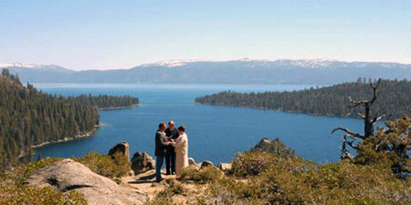 Lake Tahoe Wedding Service CA