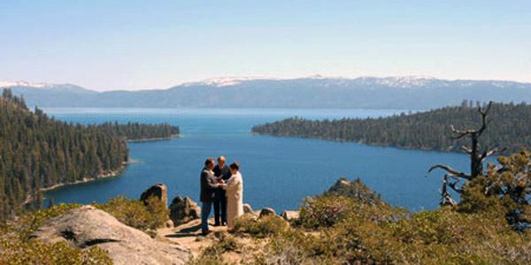 Lake Tahoe Wedding Service CA