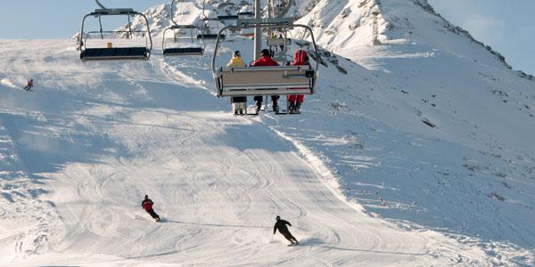 Alpine Meadows Ski Resort Tahoe City CA