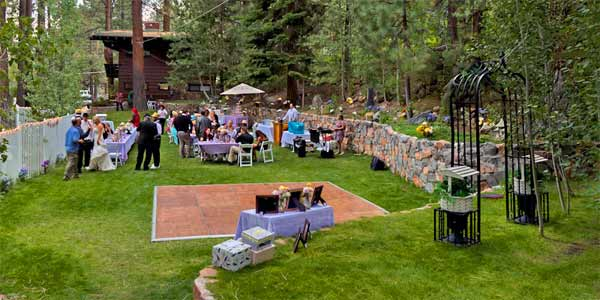 At Tahoe Weddings and Pine Cone Resort