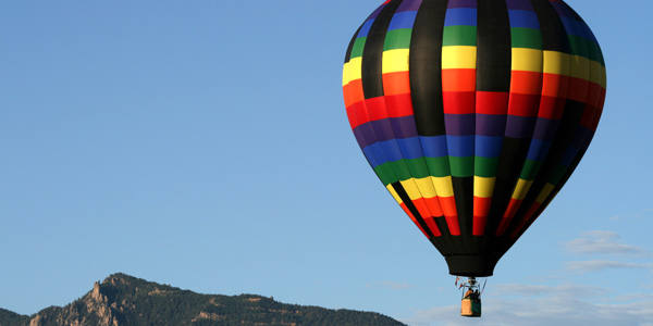 Balloons Over Lake Tahoe