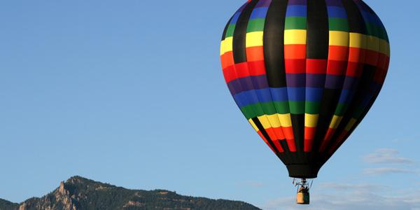 Balloons Over Lake Tahoe