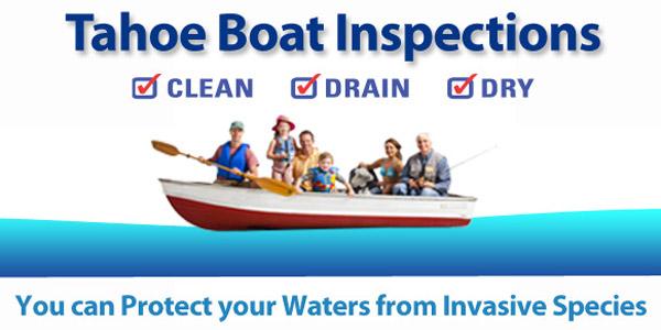Tahoe Boat Inspection