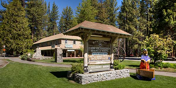 Camp Richardson Historic Resort and Marina Campgrounds South Lake Tahoe CA