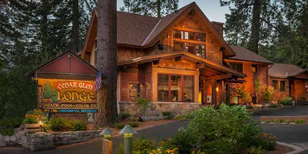 Cedar Glen Lodge Lake Tahoe CA