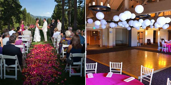 Wedding Events at The Chateau at Incline Village