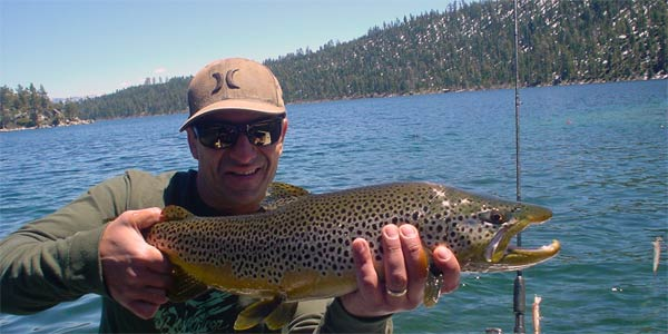 Don Sheetz Fishing Charters South Lake Tahoe California