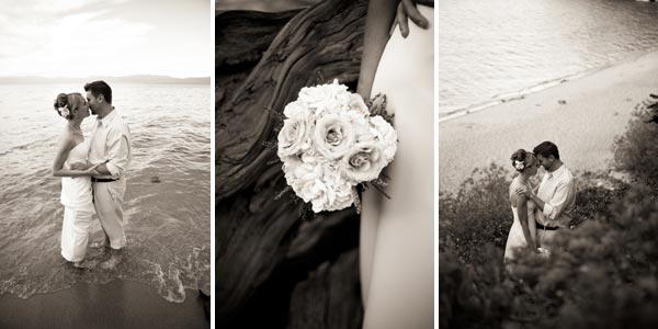 Gina Munda Wedding Pictures Lake Tahoe California
