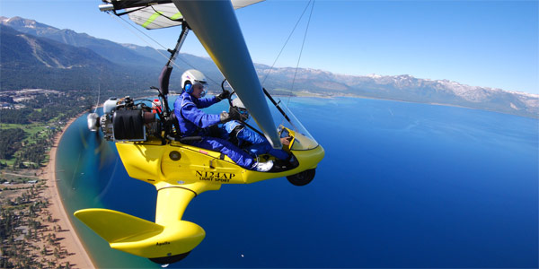 Hang Gliding Lake Tahoe CA