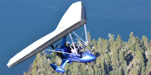 Flying Over South Lake Tahoe California