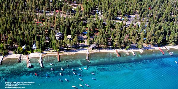 Lake Tahoe Helicopter Flight