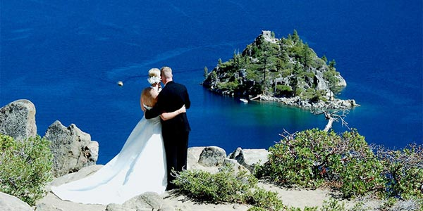 High Mountain Wedding Portraits Lake Tahoe California