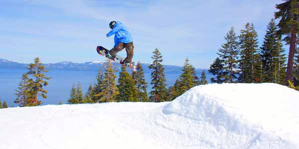 Homewood Mountain Skiing California