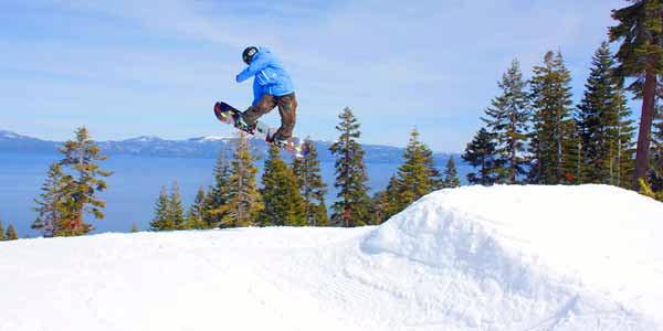 Homewood Mountain Skiing California