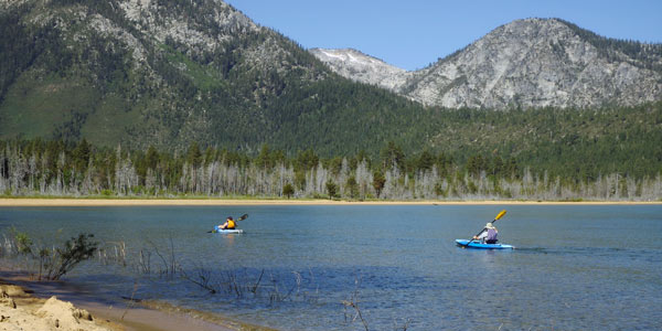 Kayak Lessons South Lake Tahoe CA