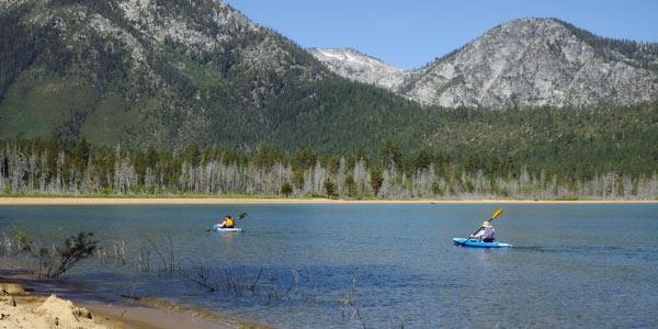 Kayak Lessons South Lake Tahoe CA