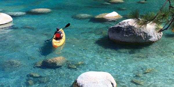 Tahoe City Kayak Cheap Rentals California