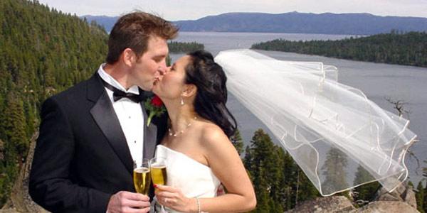 Lake of the Sky Weddings Lake Tahoe CA