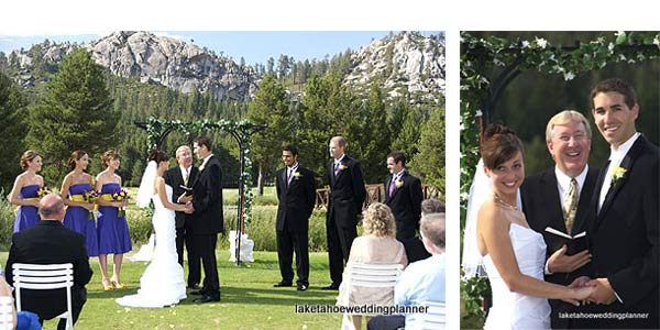 wedding planners in Lake Tahoe