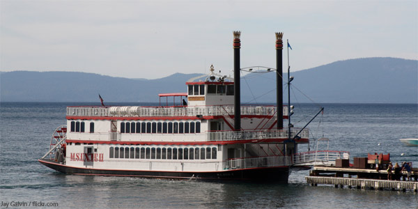 M S Dixie II Sunset Dinner Cruise Lake Tahoe CA