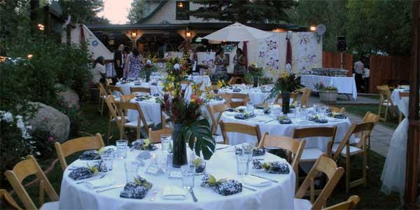 Garden Weddings in Lake Tahoe CA