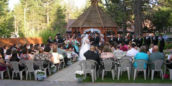 Garden Weddings in Lake Tahoe California