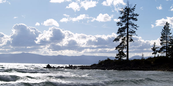 Sand Harbor Beach Tahoe California