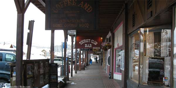 Shopping in Truckee
