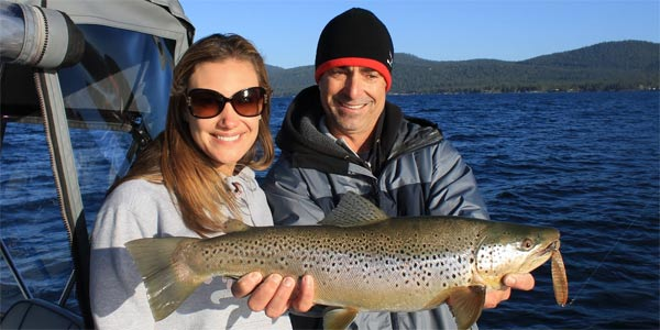 Sierra Fin Addicts in Lake Tahoe California - Nice Fish!