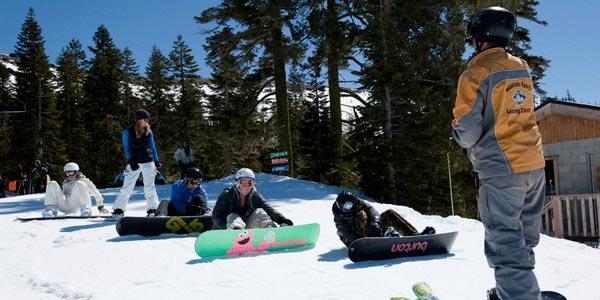 Skiing Sugar Bowl