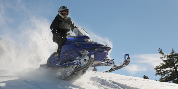 Lake Tahoe Snowmobile Tours in Tahoe Vista CA