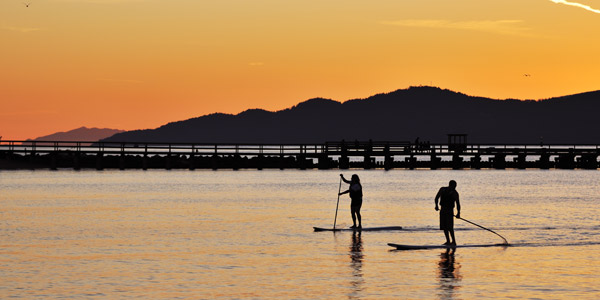South Tahoe Standup Paddle California