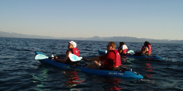 Star Tour Kayak Adventure Tahoe California
