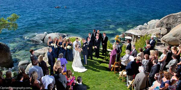 Thunderbird Lodge Weddings Lake Tahoe CA