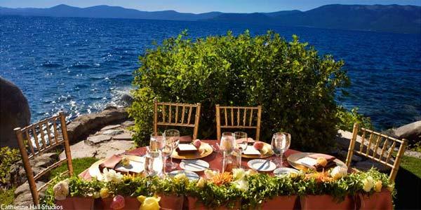 Tahoe Lakefront Weddings at the Thunderbird Lodge