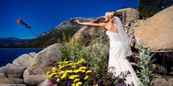 Lakefront Weddings at the Thunderbird Lodge Lake Tahoe California