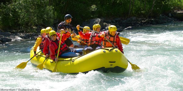 Truckee River Rafting Tahoe City CA