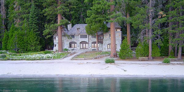 Vikingsholm Emerald Bay Lake Tahoe CA