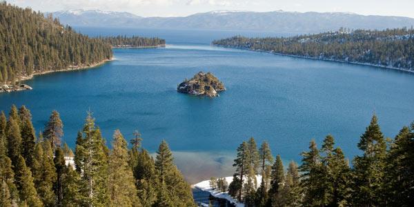 Vikingsholm Emerald Bay Lake Tahoe California
