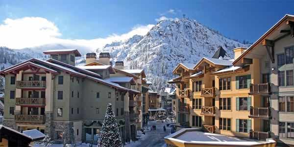 The Village at Squaw Valley Lake Tahoe California