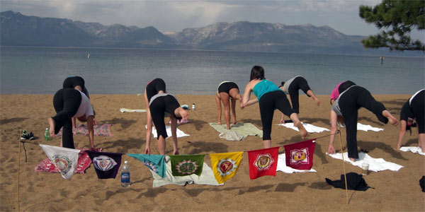 Lake Tahoe Yoga California